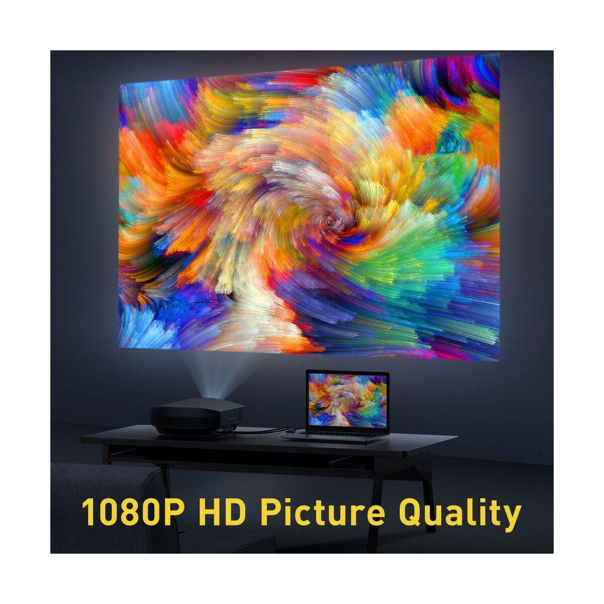 Baseus Videó kábel, Enjoyment Series, VGA [apa] - VGA [apa] kétirányú 2m, szürke (CAKSX-U0G)