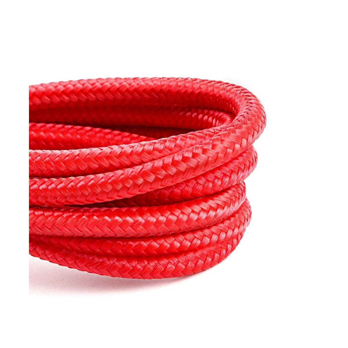 Baseus Lightning Cafule kábel, 2A, 3m, piros/piros (CALKLF-R09)