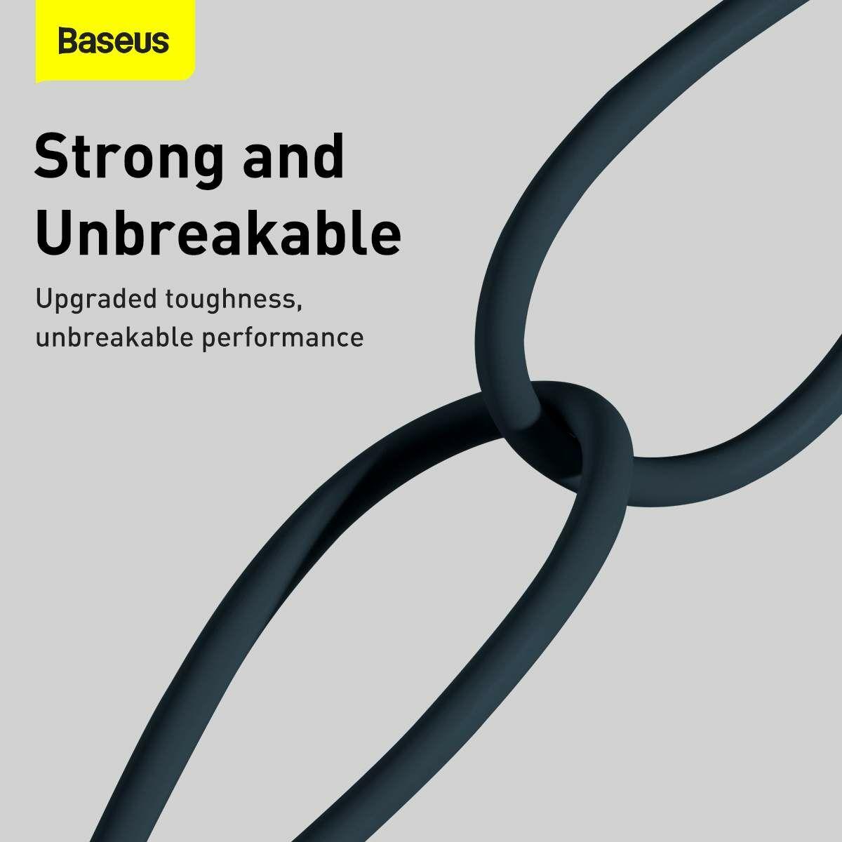 Baseus Lightning Superior Series kábel, Gyors töltés, Adatkábel 2.4A, 1m, kék (CALYS-A03)