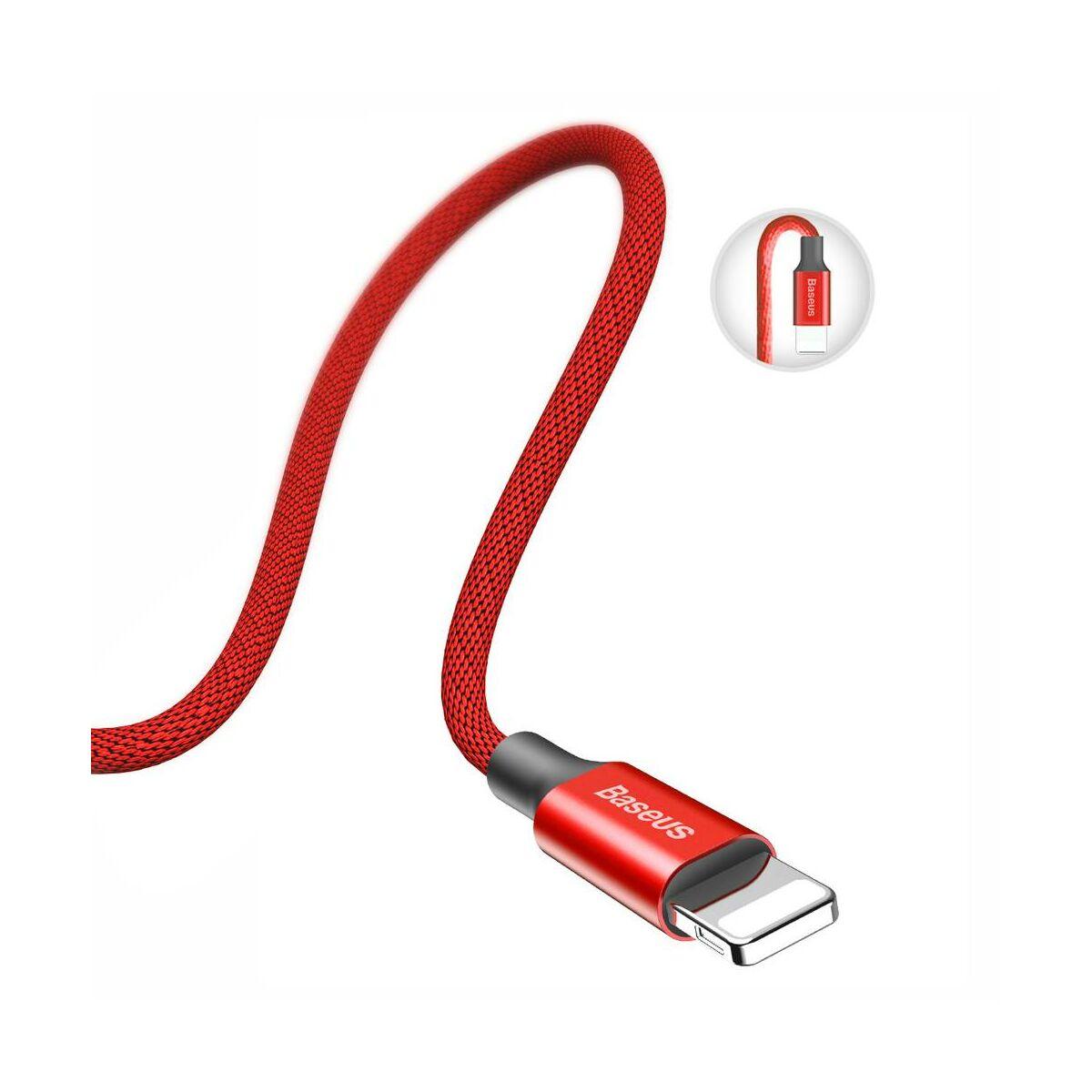 Baseus Lightning kábel, Yiven 2A, 1.2m, piros (CALYW-09)