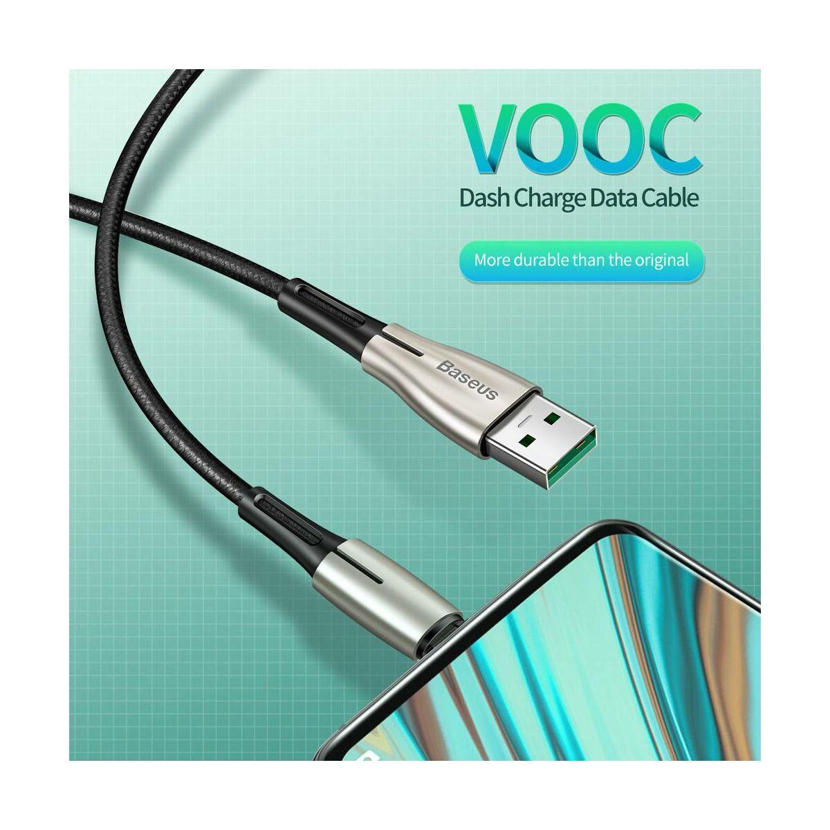Baseus Micro USB kábel, Waterdrop, 4A, 2m, fekete (CAMRD-C01)