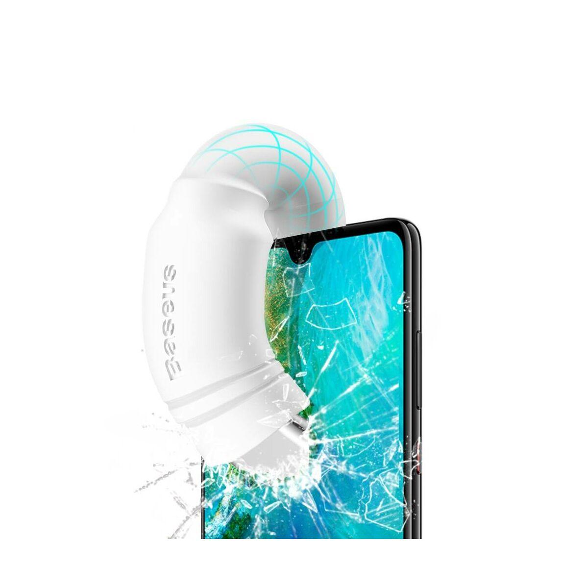 Baseus Type-C Double-ring Huawei gyors töltő/adat kábel 5A, 0.5m, fehér (CATSH-A02)