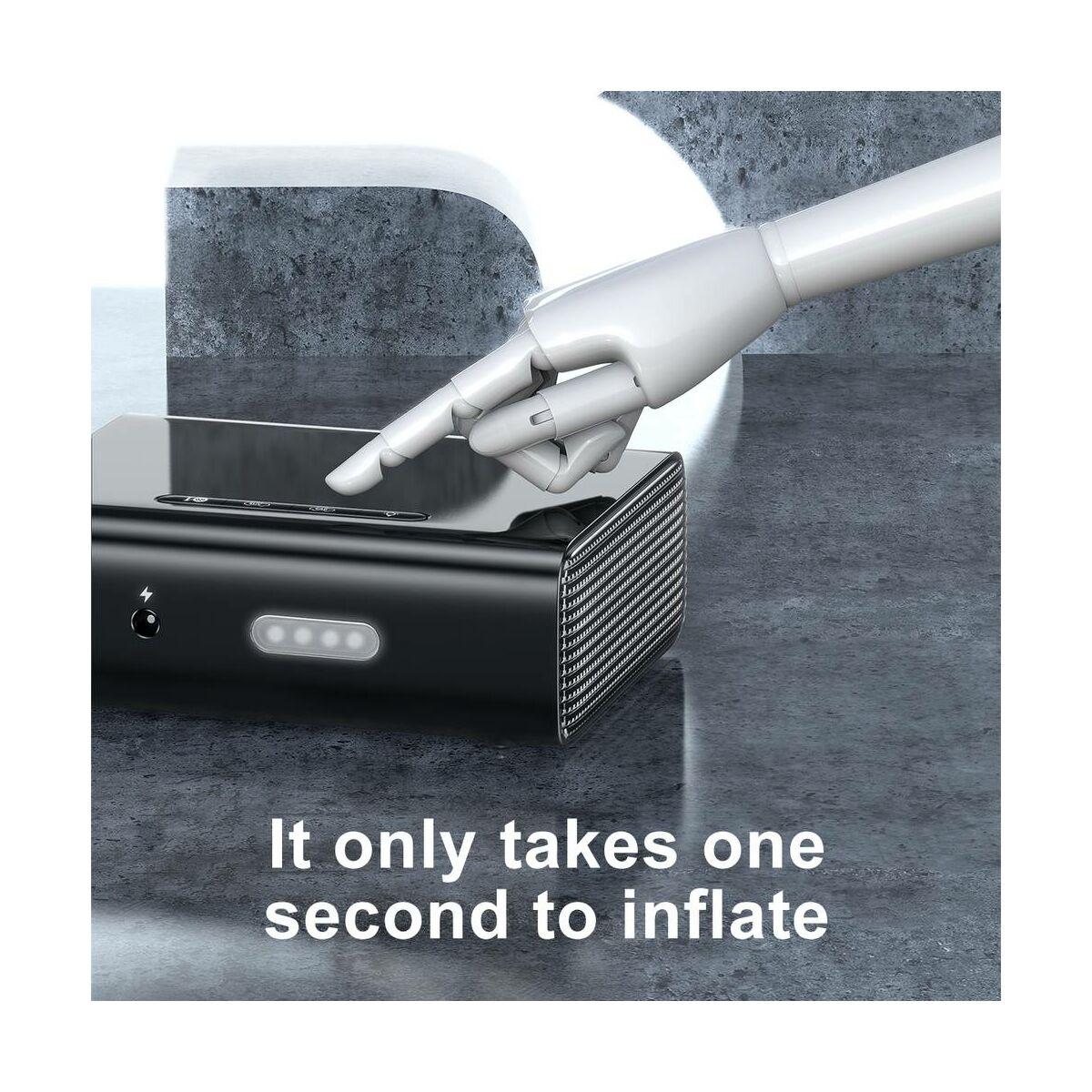Baseus autós kiegészítő, Smart mini kompressor, 120W, fehér (CRCQB01-02)