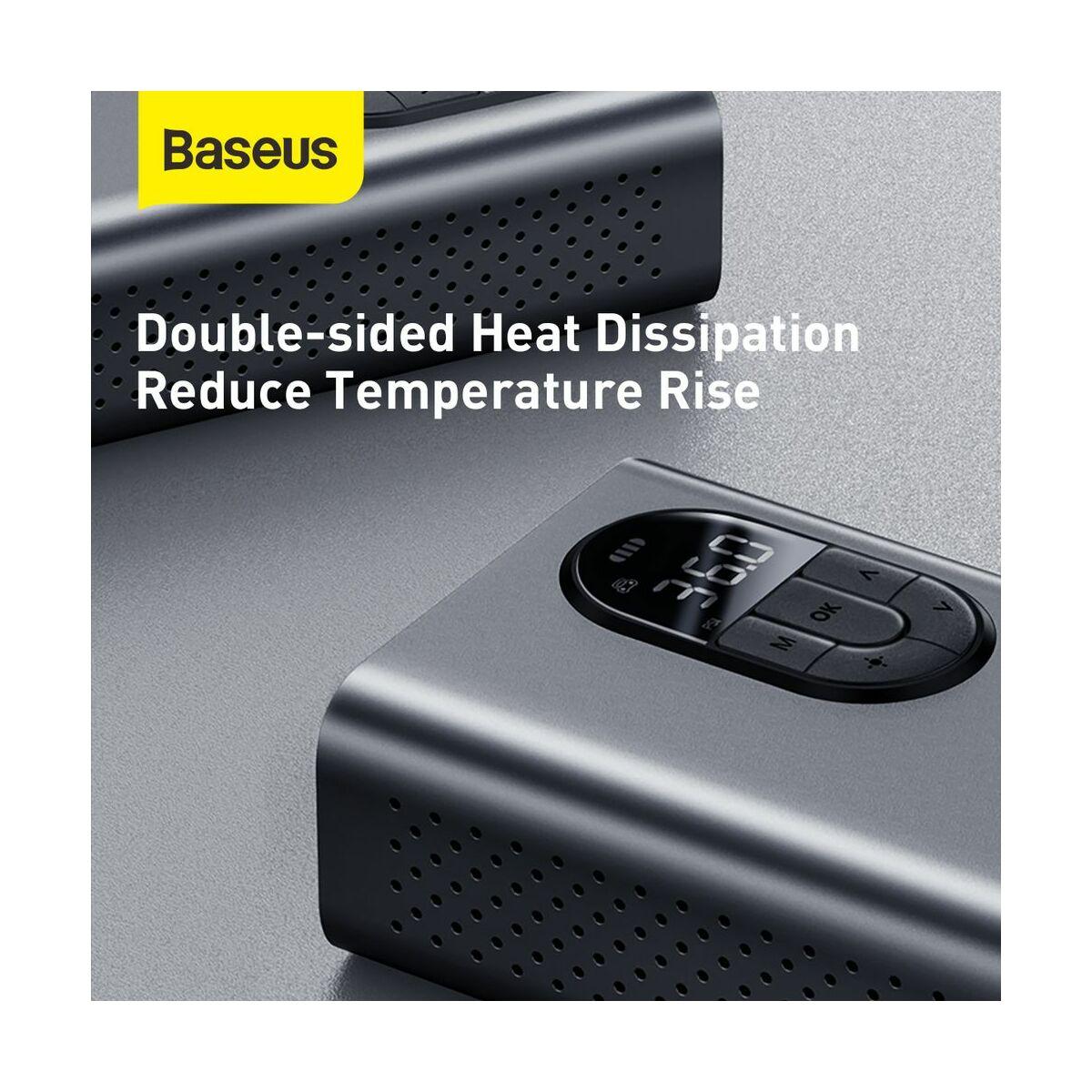 Baseus autós kiegészítő, Energy Source mini kompresszor, 54W, szürke (CRCQB02-0A)