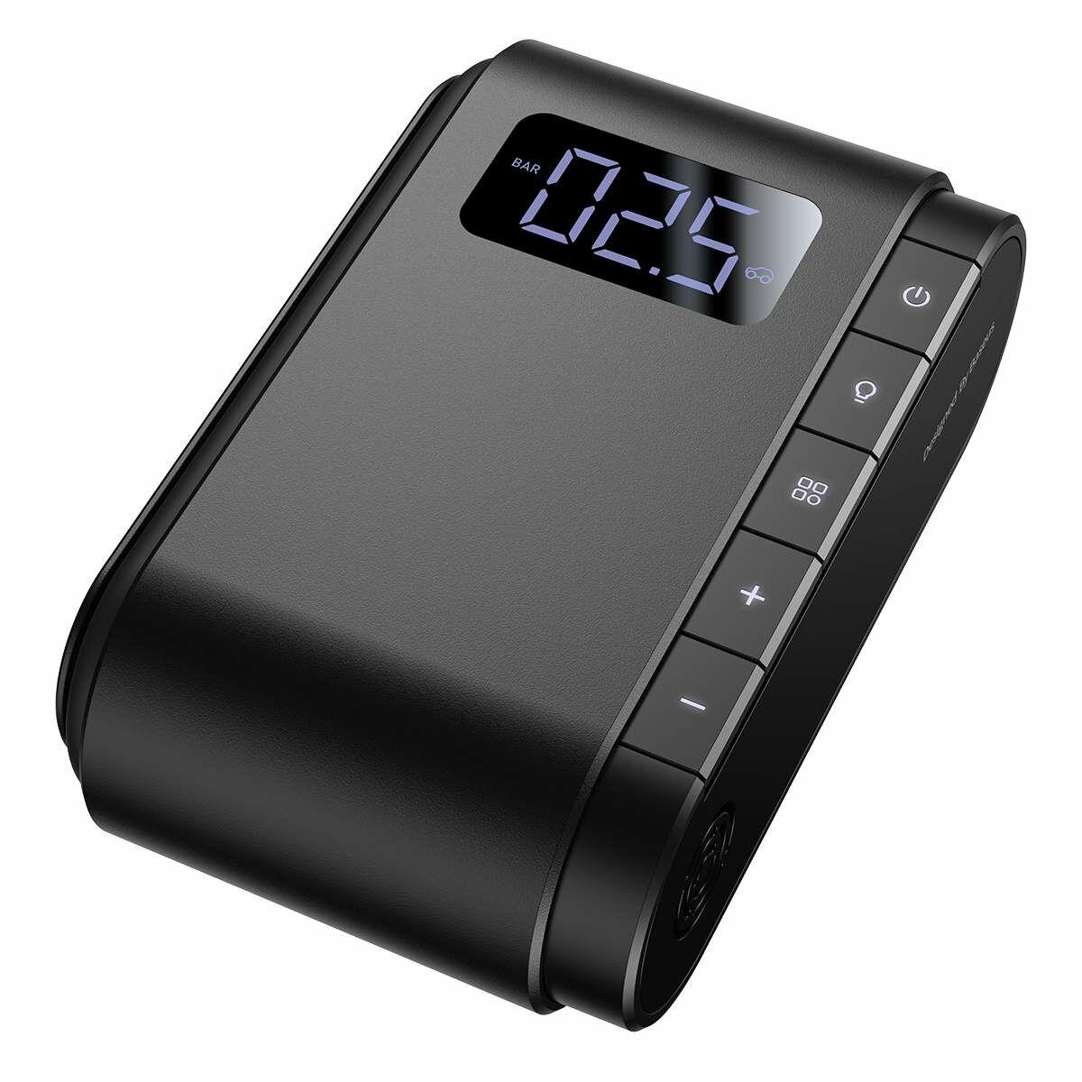Baseus autós kiegészítő, Dynamic Eye mini kompresszor, 45W, fekete (CRCQB03-01)