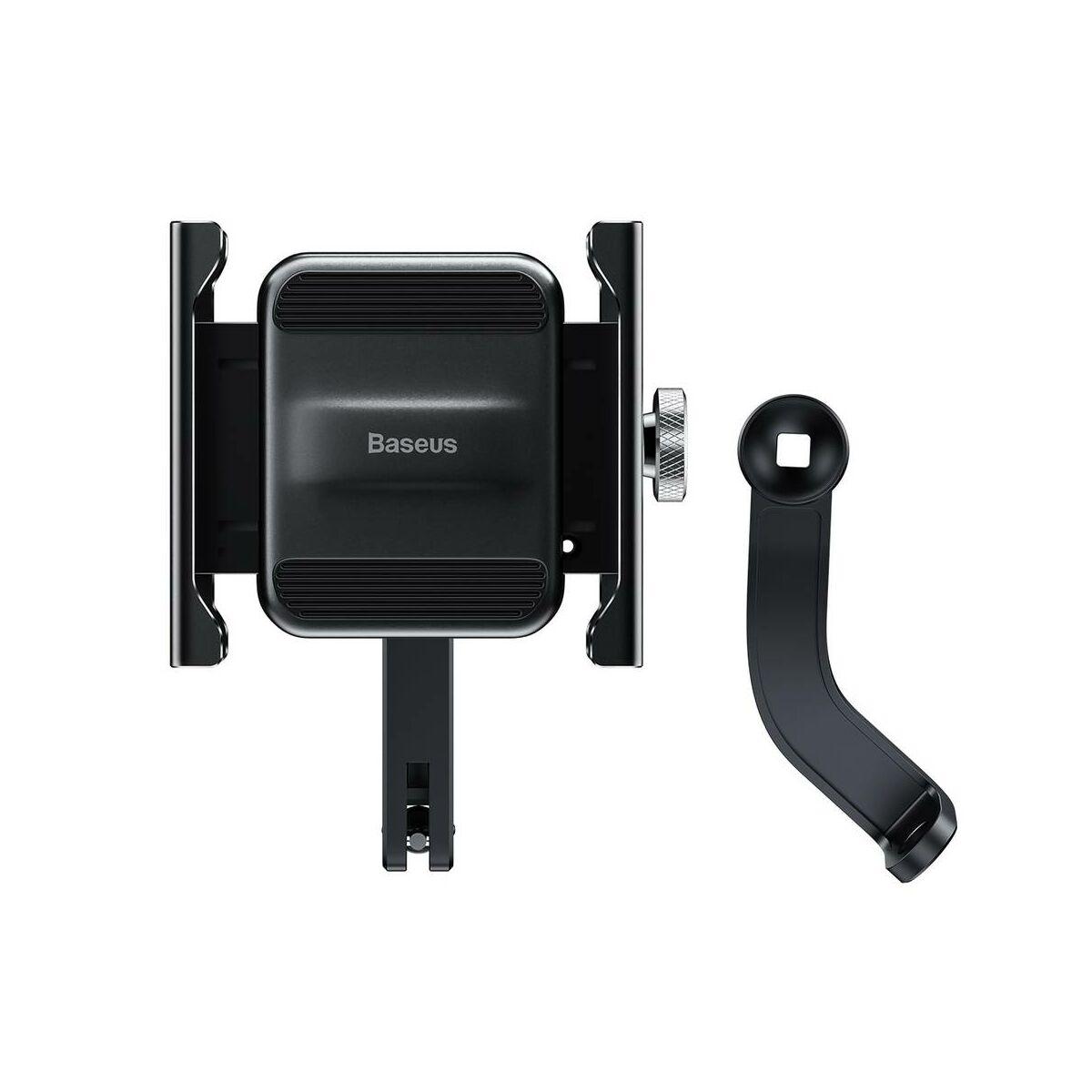 Baseus Motorbiciklis telefontartó (Biciklire is felszerelhető), fekete (CRJBZ-01)