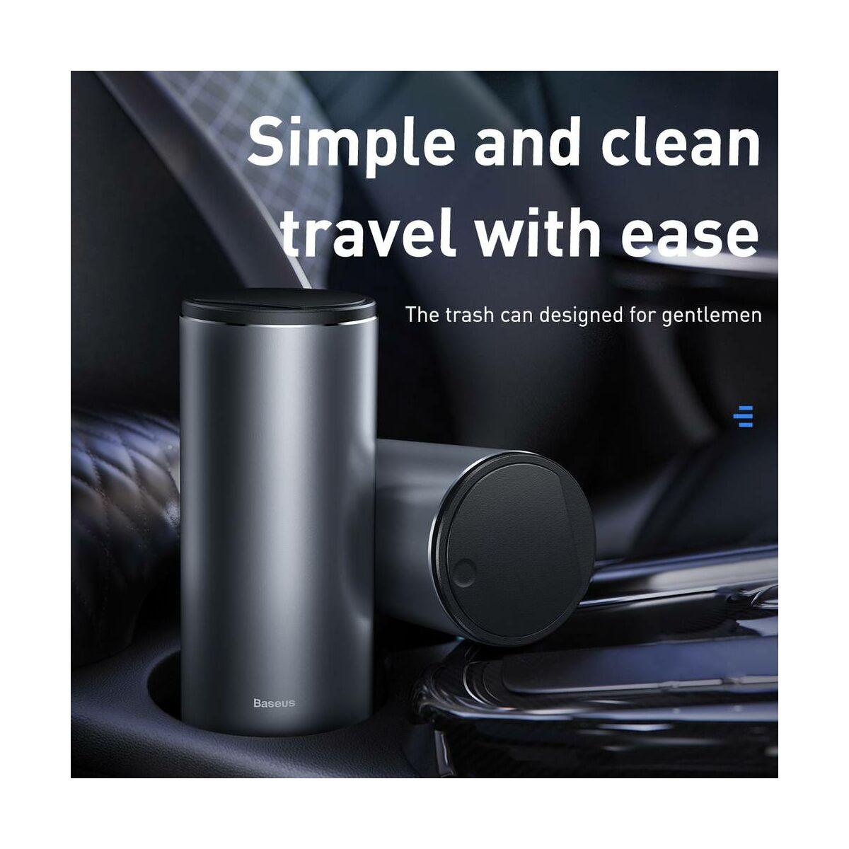 Baseus autós kiegészítő, Gentelman Style kukához szemetes zsák, (2 roll - összesen 60db), szürke (CRLJD-0G)