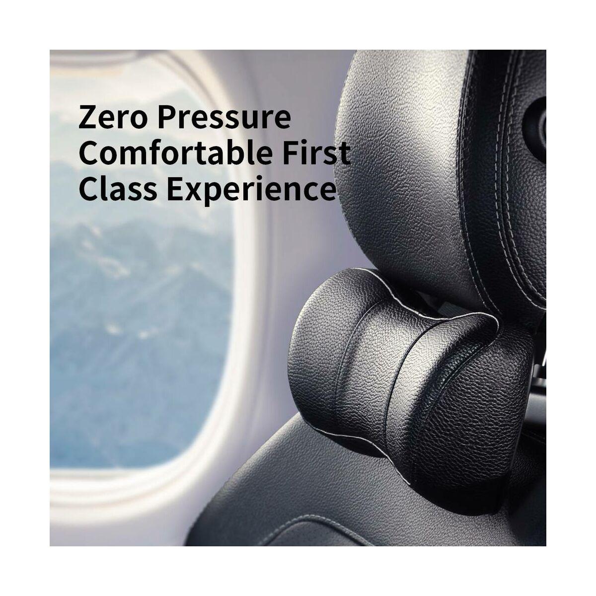 Baseus autós kiegészítő, First Class fejtámla, fekete (CRTZ01-01)