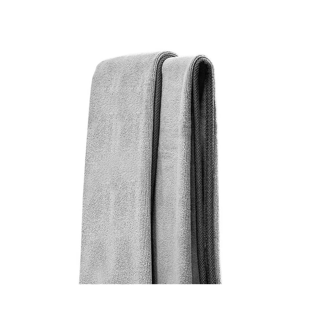 Baseus autós kiegészítő, Life mikroszálas törölköző autó mosás utáni tisztításhoz (40*40 mm, 2db / csomag) szürke (CRXCMJ-0G)