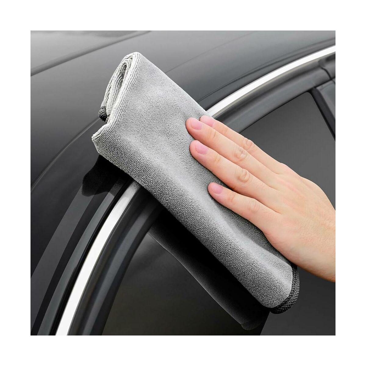Baseus autós kiegészítő, Life mikroszálas törölköző autó mosás utáni tisztításhoz (40*80mm) szürke (CRXCMJ-A0G)