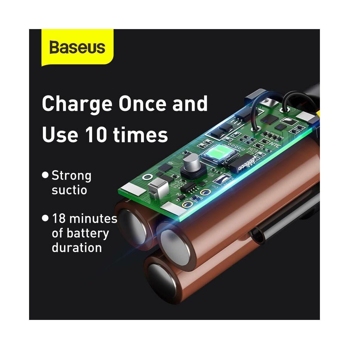 Baseus autós kiegészítő, porszívó A2, 5000Pa szívóerő 70W, fehér (CRXCQA2-02)