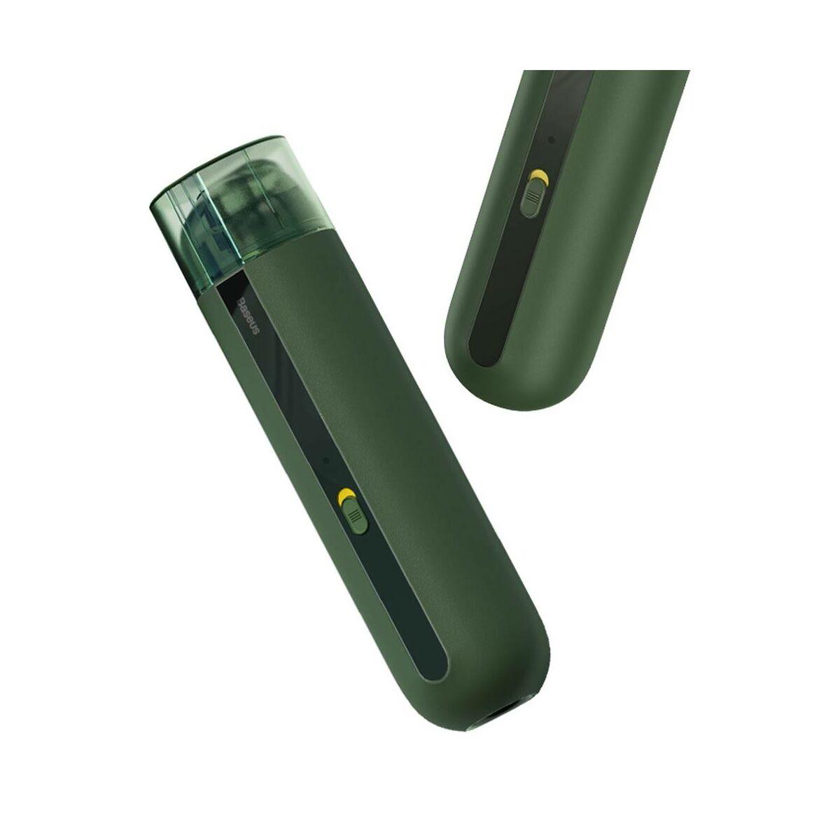 Baseus autós kiegészítő, porszívó A2, 5000Pa szívóerő 70W, zöld (CRXCQA2-06)