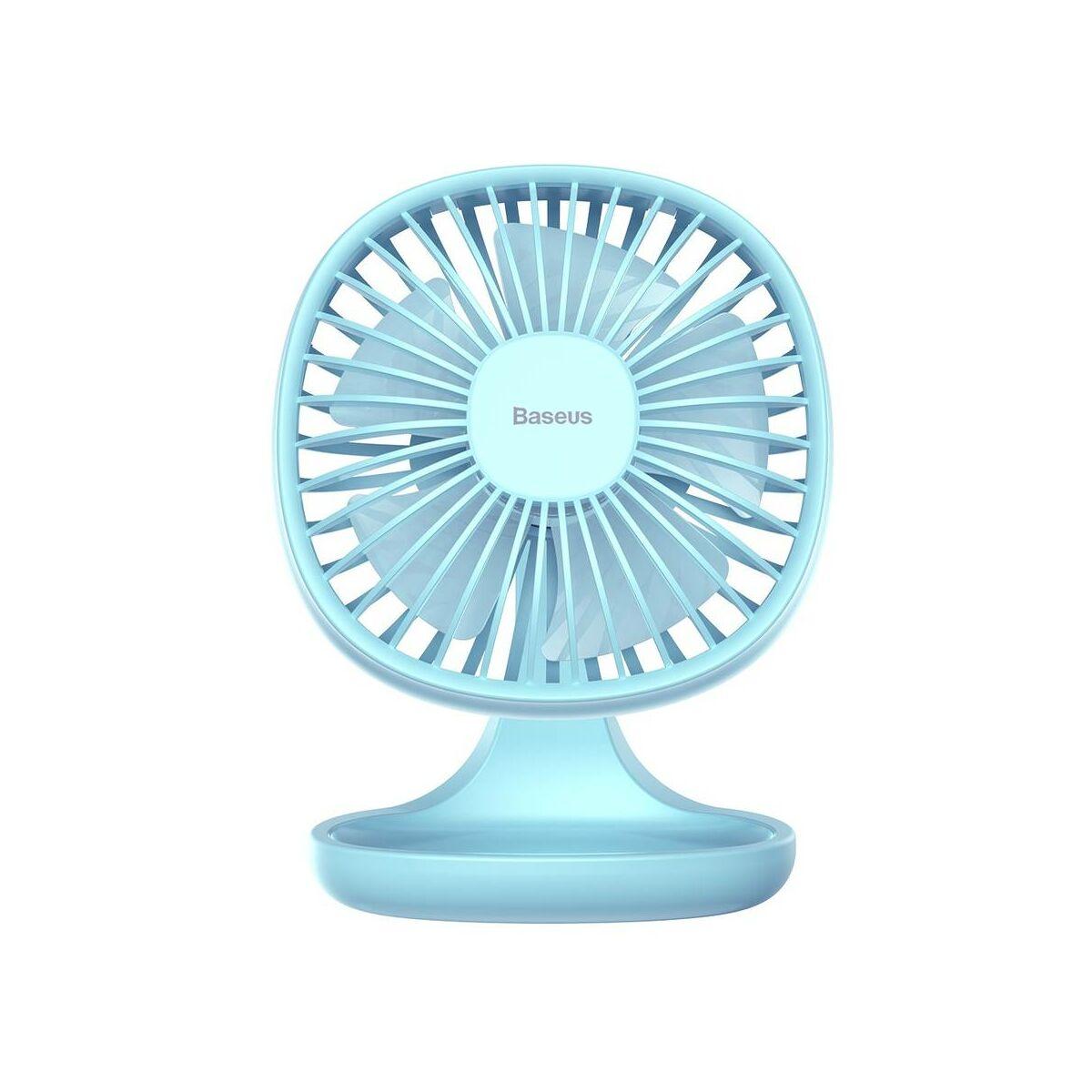 Baseus otthon, Pudding-Shaped asztali ventilátor, kék (CXBD-15)