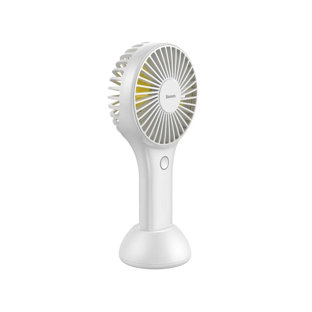 Baseus otthon, Bingo kézi/asztali ventilátor, fehér (CXBG-02)