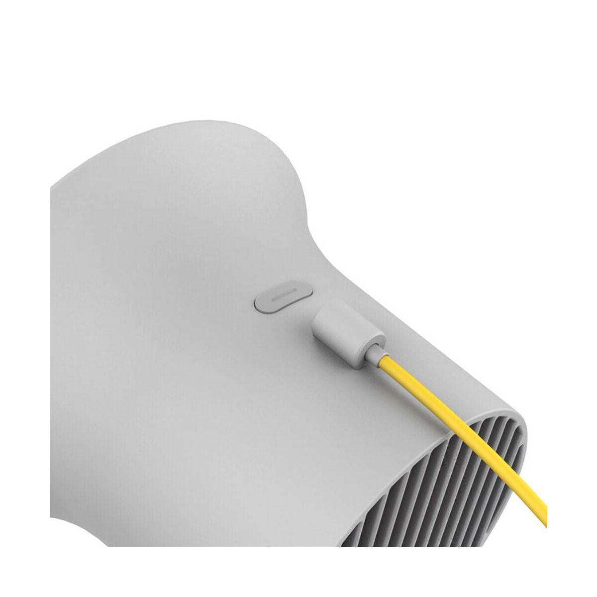 Baseus otthon, Small Horn asztali ventilátor, szürke (CXLB-0G)
