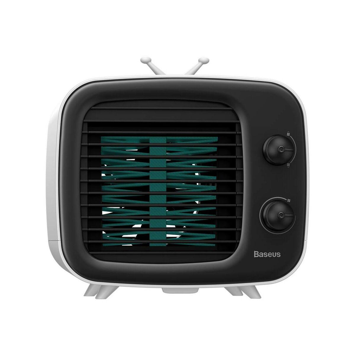 Baseus otthon, Time asztali dobozos ventilátor fehér/fekete (CXTM-21)