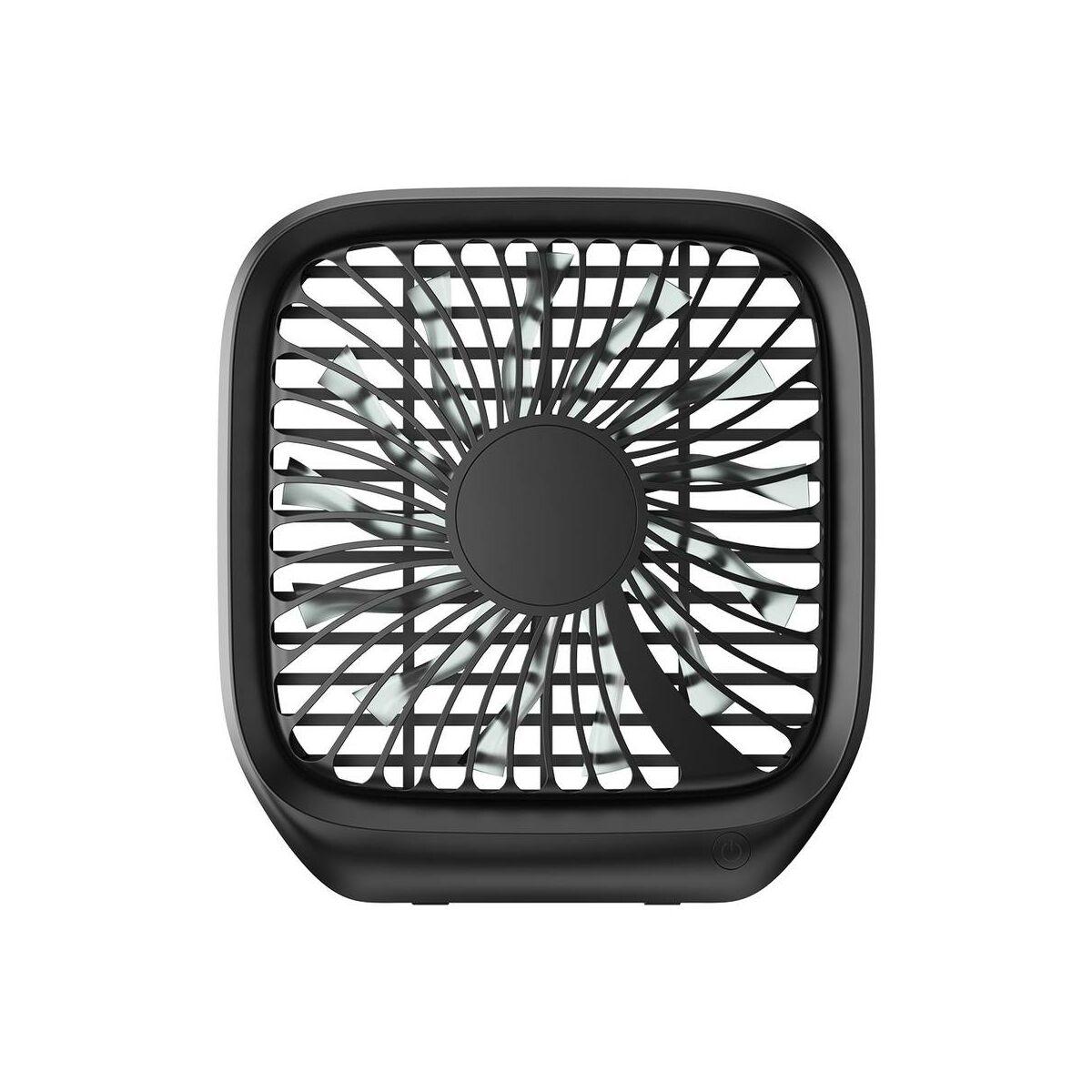 Baseus autós kiegészítő, első ülés fejtámlához rögzíthető ventilátor fekete (CXZD-01)