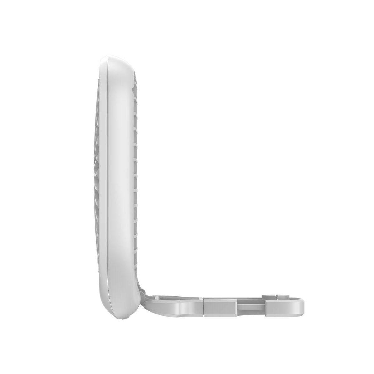 Baseus autós kiegészítő, első ülés fejtámlához rögzíthető ventilátor fehér (CXZD-02)
