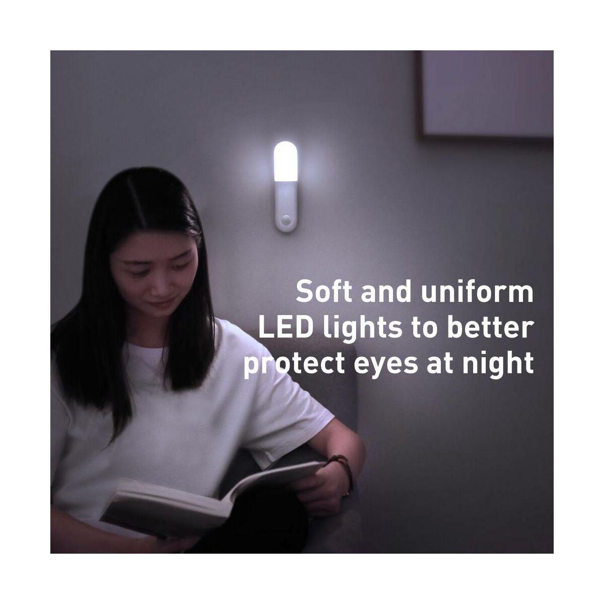 Baseus otthon, Sunshine series falra szerelhető lámpa, vékony, fehér, (DGSUN-GB02)