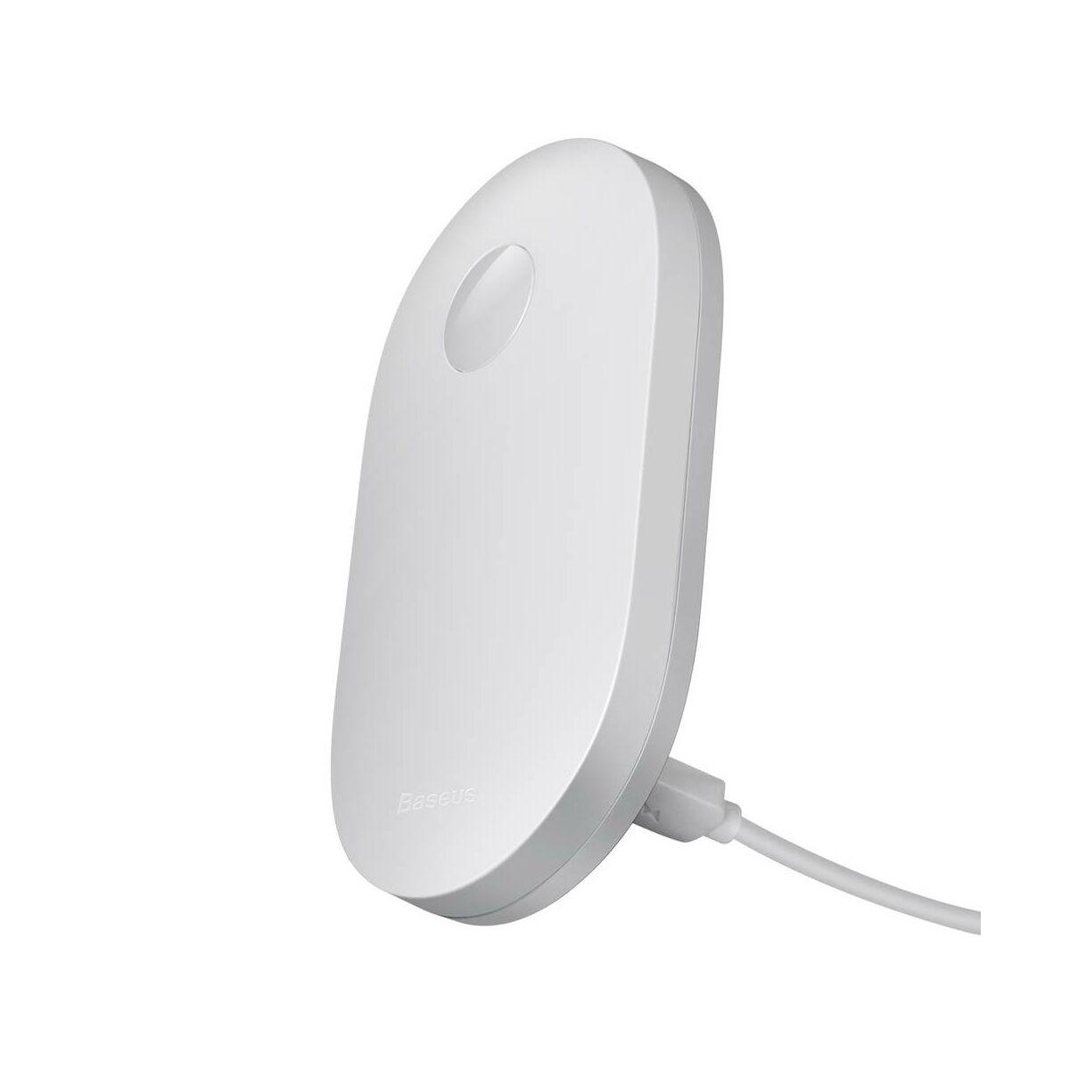 Baseus otthon, Sunshine series falra szerelhető LED lámpa + töltő kábel, vékony, természetes fehér fény, (DGSUN-RA02)