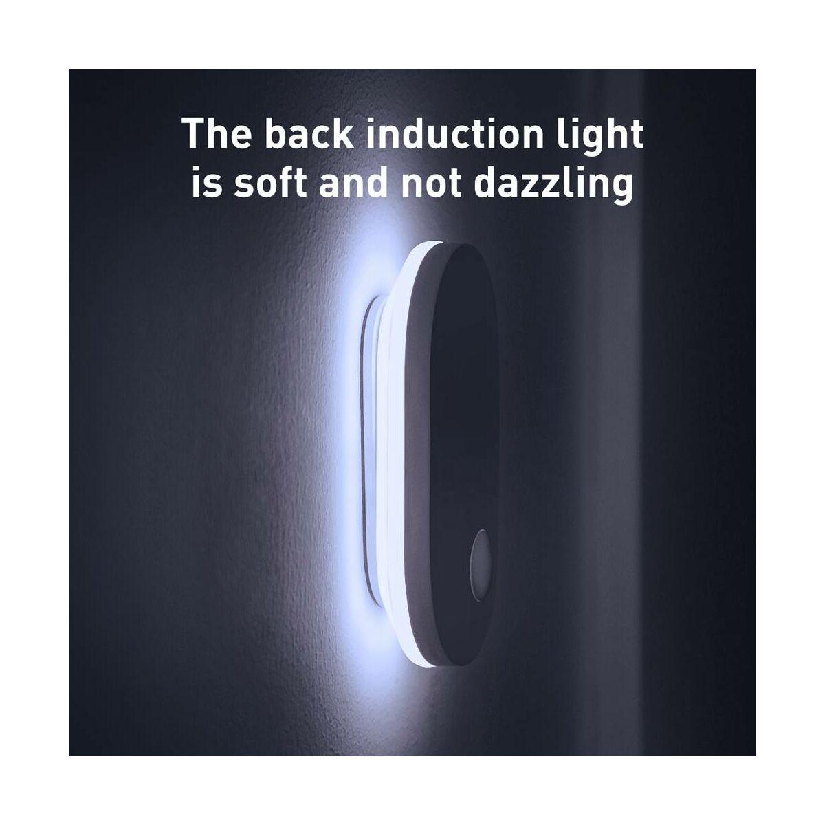 Baseus otthon, Sunshine series falra szerelhető lámpa, zömök, fehér (DGSUN-RB02)