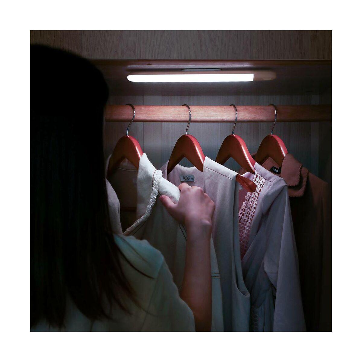 Baseus otthon, Sunshine human body Induction LED lámpa töltő kábellel falra vagy szekrénybe, hideg fehér (DGSUN-YB02)