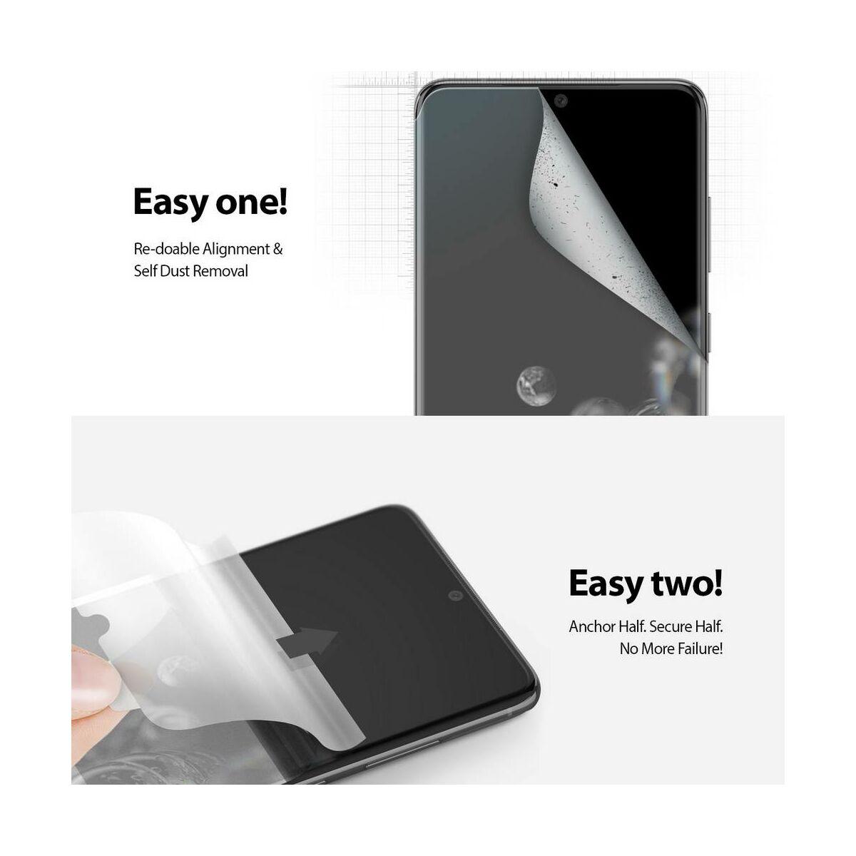 Ringke Samsung Galaxy S20 Ultra kijelzővédő üveg, átlátszó