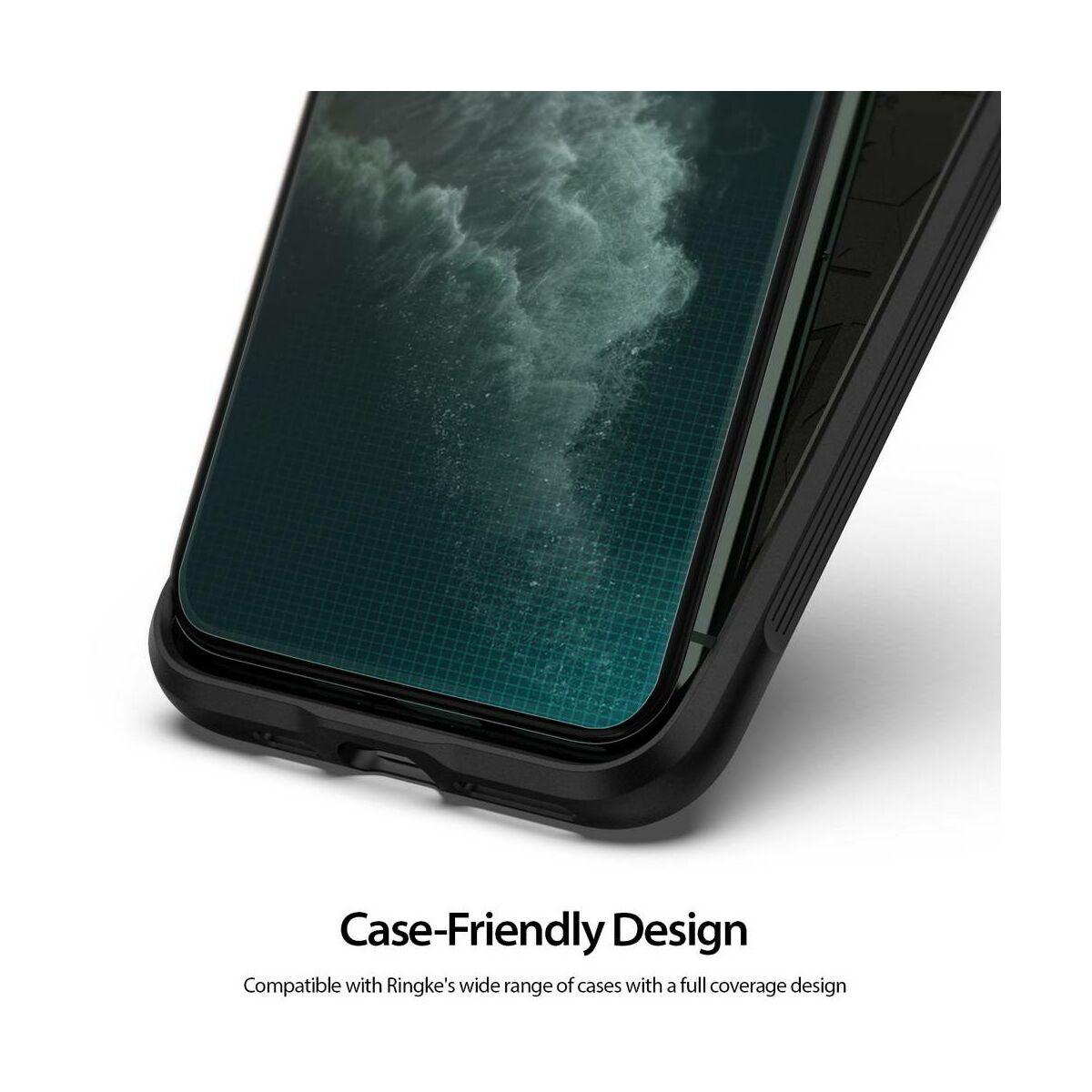 """Ringke iPhone XS Max (6.5"""") kijelzővédő üveg, átlátszó"""