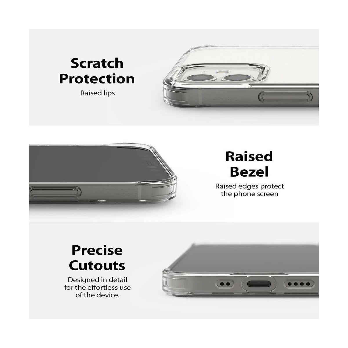 Ringke iPhone 12 mini tok, Fusion, Matt átlátszó