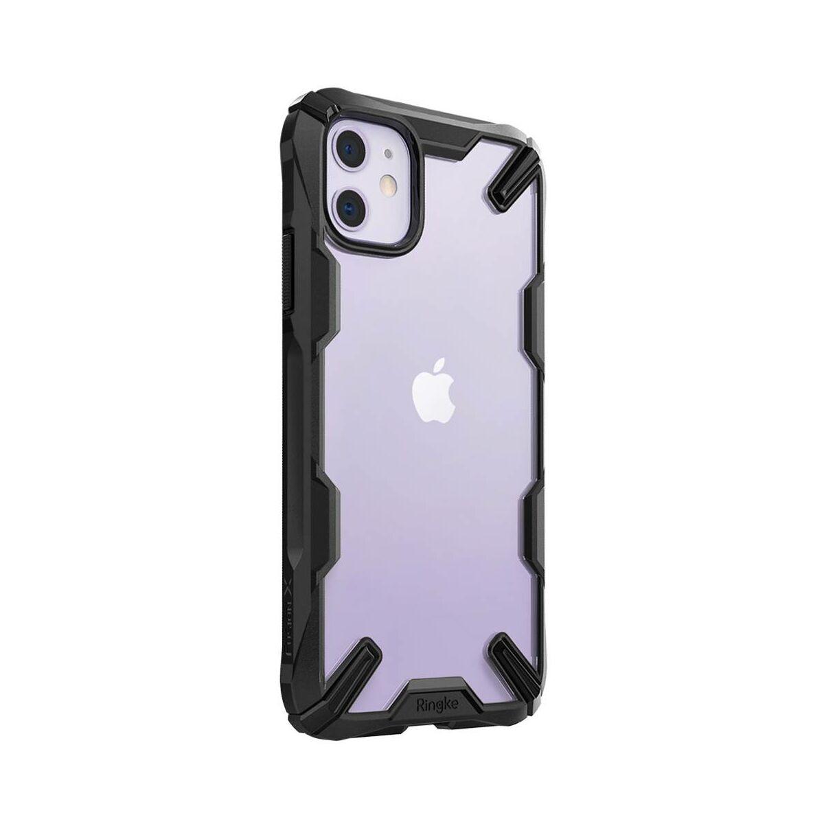Ringke iPhone 11 tok, Fusion X, Fekete