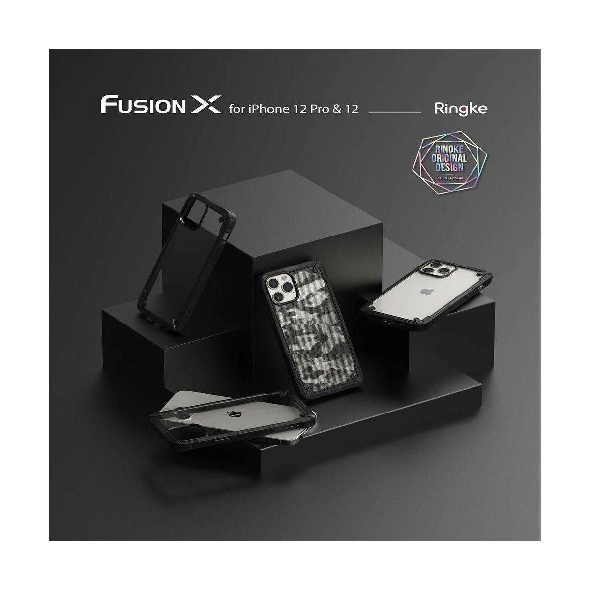 Ringke iPhone 12/12 Pro tok, Fusion X, Fekete