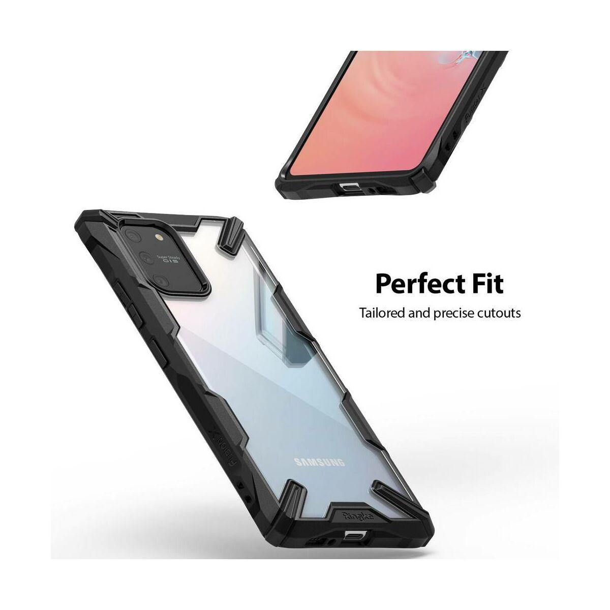 Ringke Samsung Galaxy S10 Lite tok, Fusion X, fekete