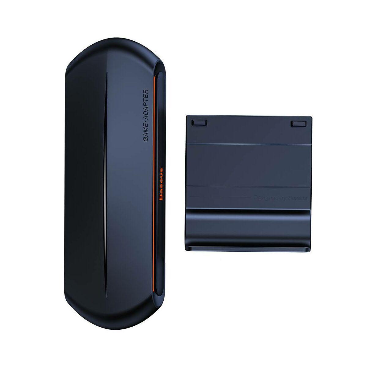 Baseus játék eszköz, Gamo Tool Mobile Game Adapter 2xUSB HUB GA01 billentyűzet és egérhez, fekete (GMGA01-01)