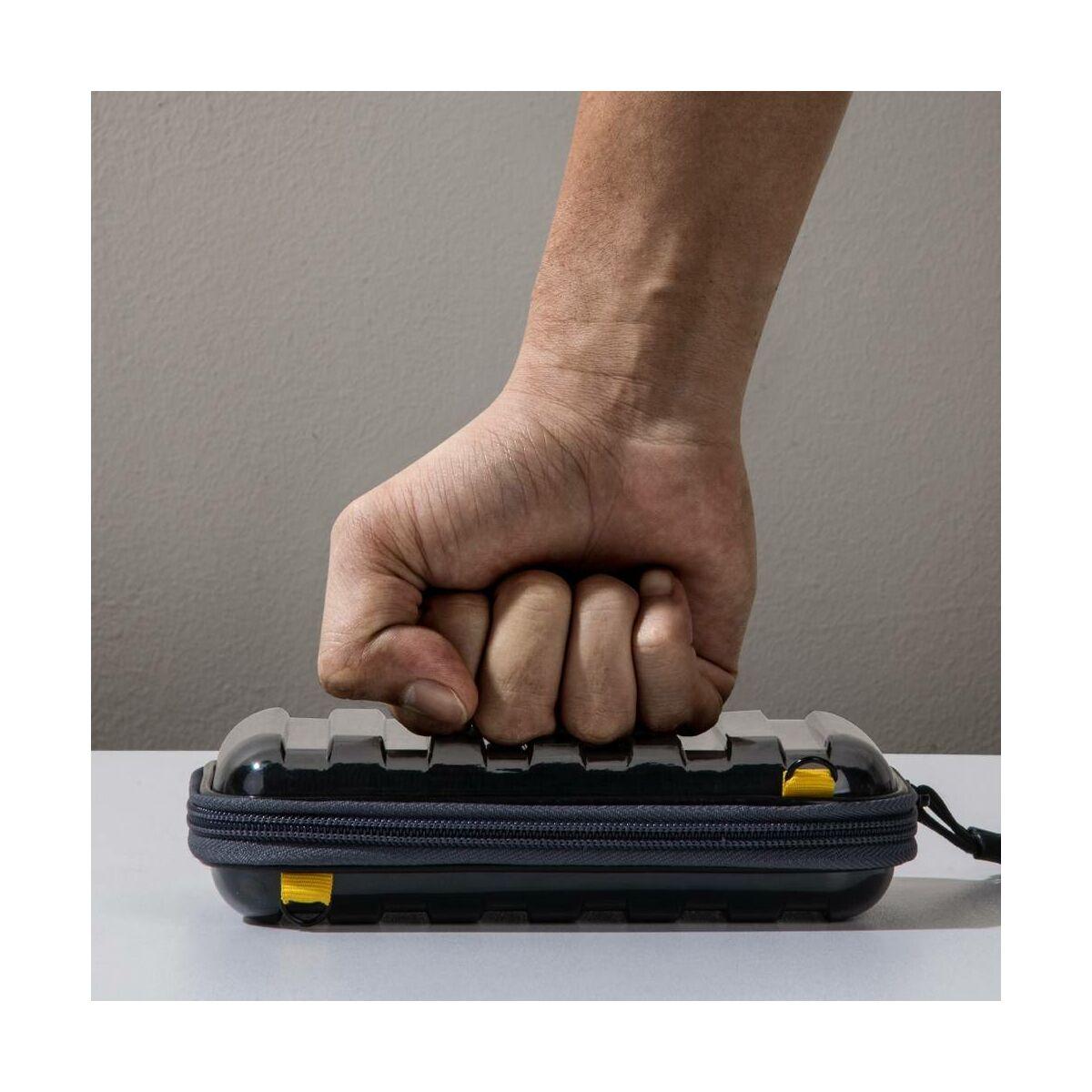 Baseus kézi táska, Let's go Hermit ütésálló tároló, (105x25x10 mm), fekete (LBFZ-A01)