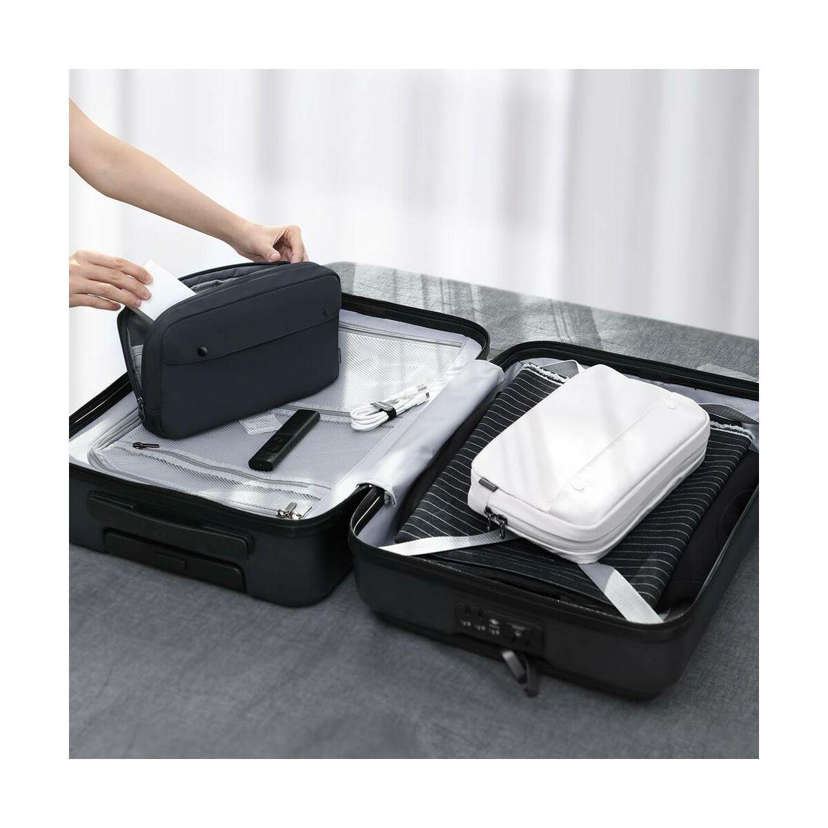 Baseus kézi táska, Basic series, Extra digital tároló, méret S (220 x 60 x 140 mm), szürke (LBJN-D0G)