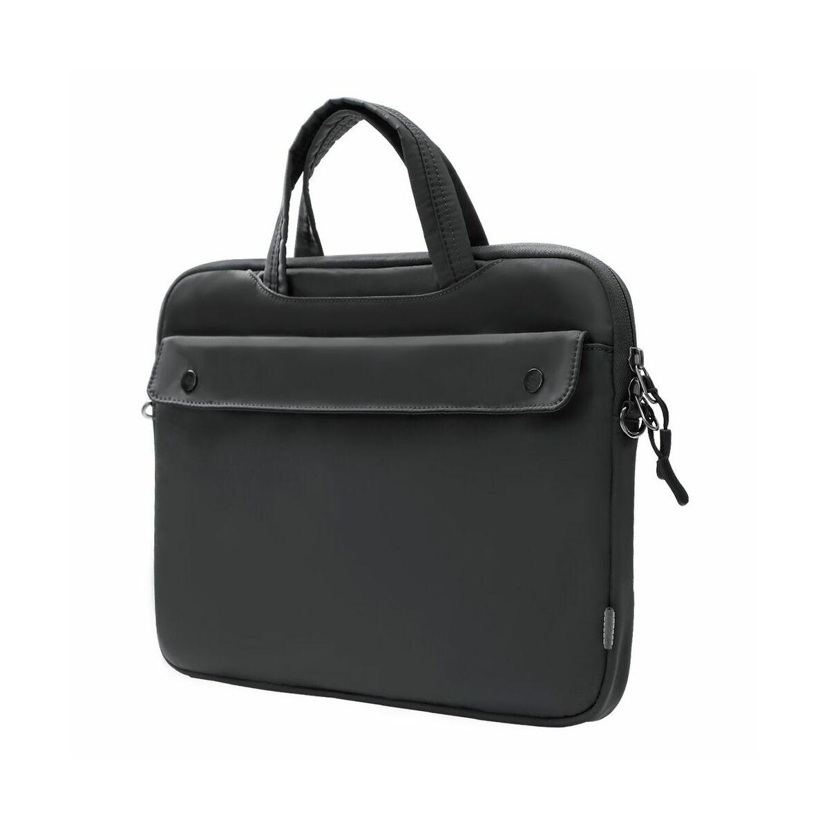 Baseus kézi táska, Basics series, laptop válltáska (16 inch, 380 x 265 x 20 mm), szürke (LBJN-H0G)