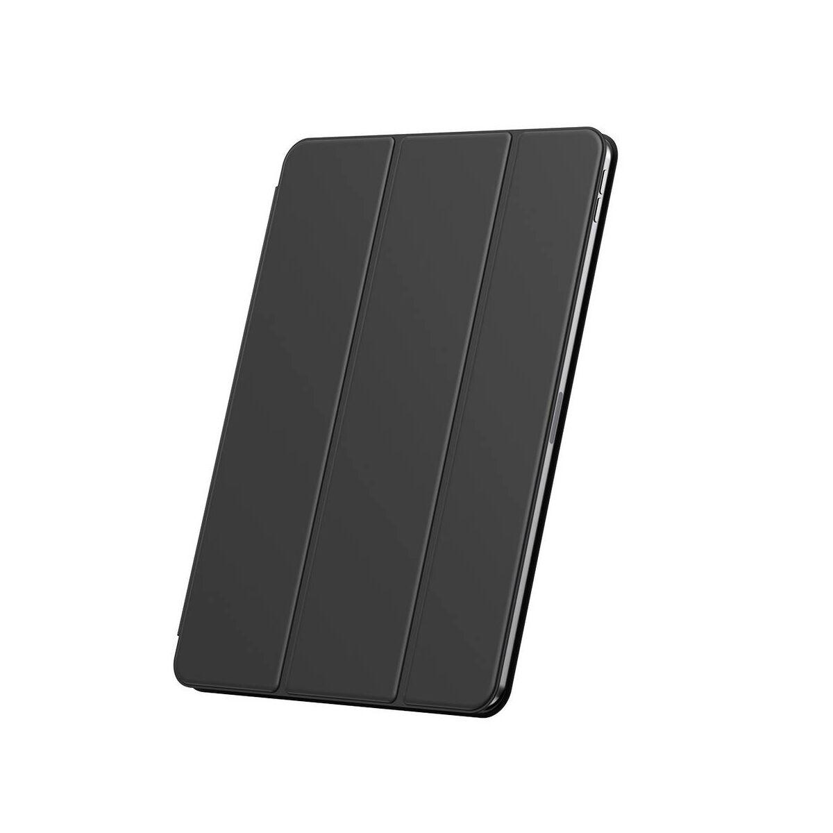 "Baseus iPad Pro 12.9"" tok, Simplism mágneses bőr tok, fekete (LTAPIPD-FSM01)"