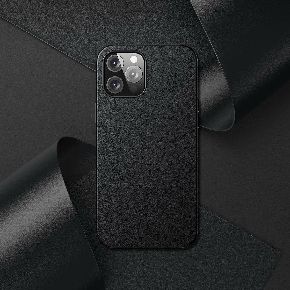 Baseus iPhone 12 Pro Max tok, Original Magnetic, fekete (LTAPIPH67N-YP01)