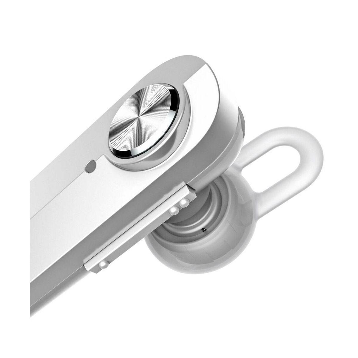 Baseus fülhallgató, Bluetooth Encok A01, vezeték nélküli, fehér (NGA01-02)