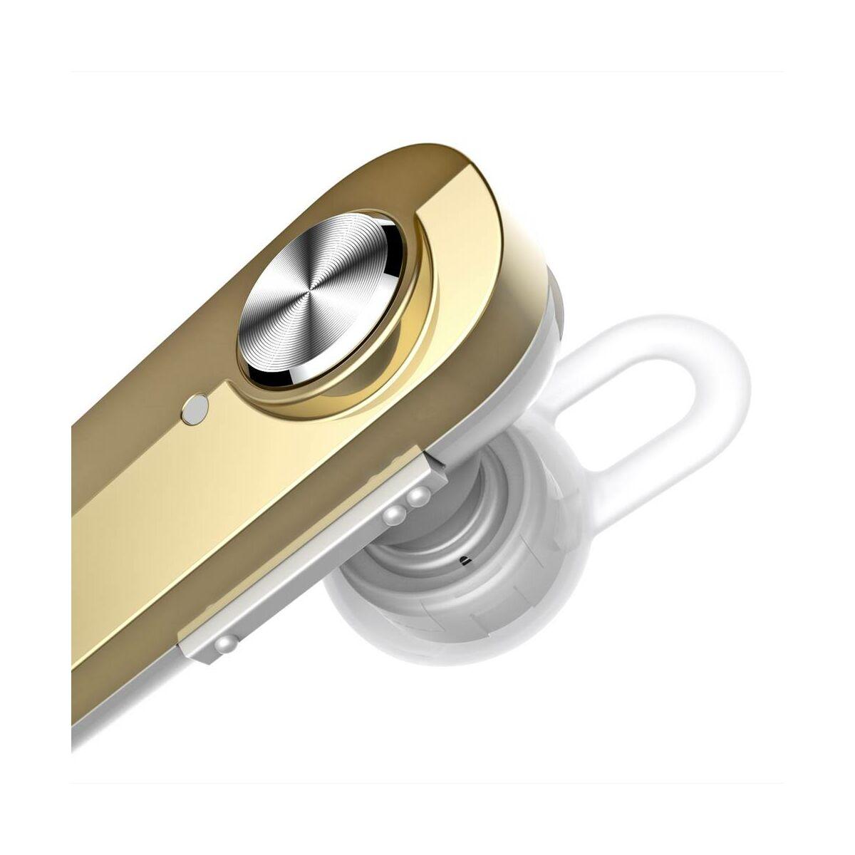 Baseus fülhallgató, Bluetooth Encok A01, vezeték nélküli, arany (NGA01-0V)