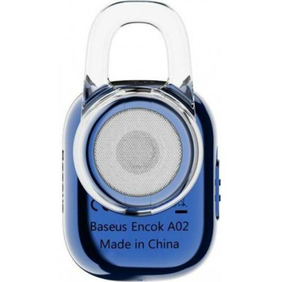 Baseus fülhallgató, Bluetooth Encok A02 Mini, vezeték nélküli, kék (NGA02-03)