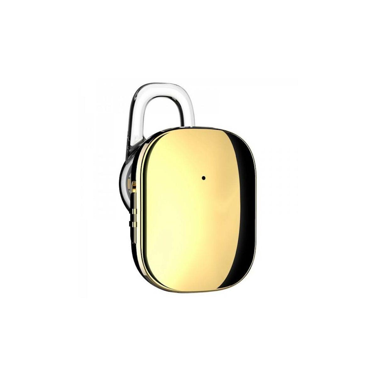 Baseus fülhallgató, Bluetooth Encok A02 Mini, vezeték nélküli, arany (NGA02-0V)