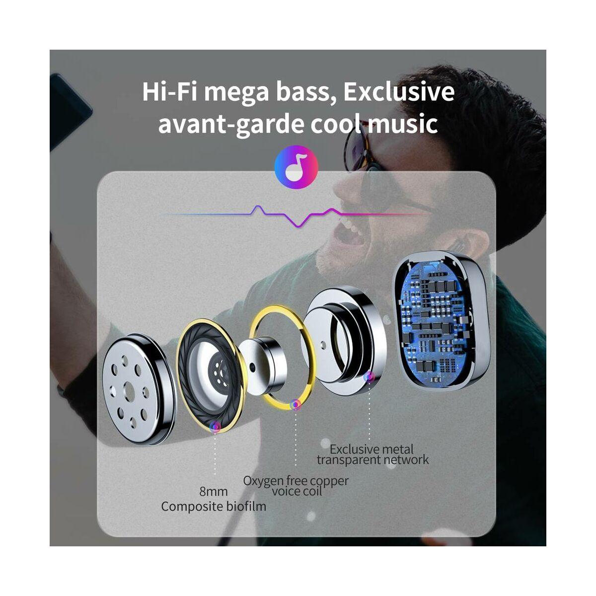 Baseus mono fülhallgató headset, Bluetooth Encok A03, fekete (NGA03-01)