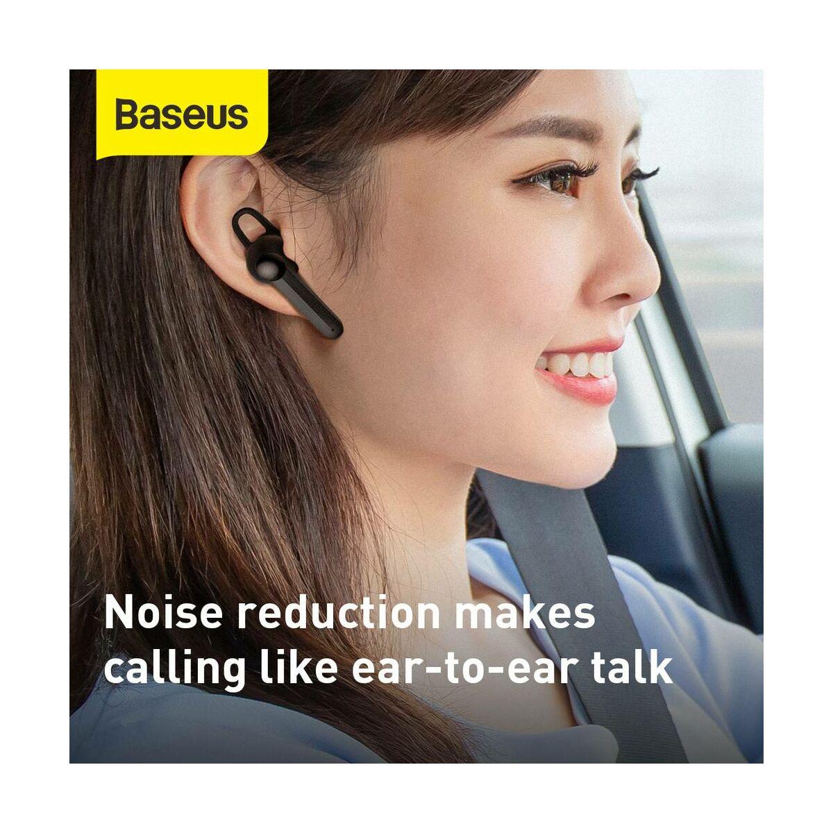 Baseus fülhallgató, Bluetooth Encok A05, Headset, vezeték nélküli, Mono, BT 5.0, fekete (NGA05-01)