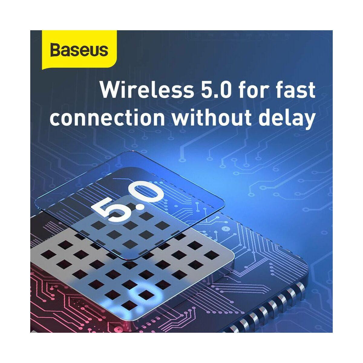 Baseus fülhallgató, Bluetooth Encok A05, Headset, vezeték nélküli, Mono, BT 5.0, fehér (NGA05-02)