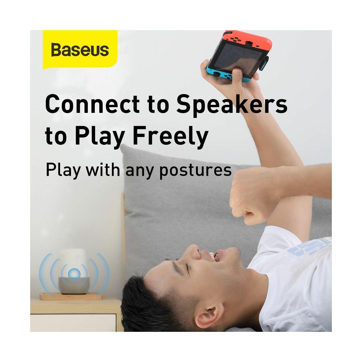 Baseus játék eszköz, Nintendo Switch, GAMO BA05 Bluetooth adapter, Type-C, fekete (NGBA05-01)