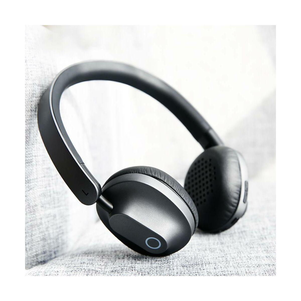 Baseus fejhallgató, Bluetooth Encok D01, vezeték nélküli, fekete (NGD01-0A)