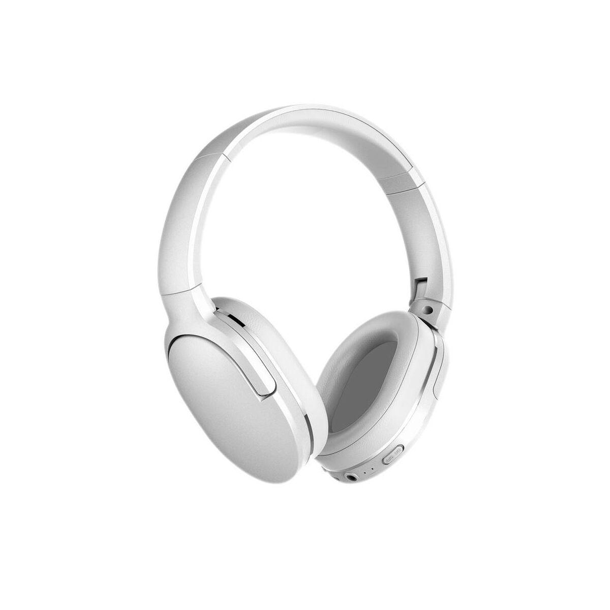 Baseus fejhallgató, Bluetooth Encok D02, vezeték nélküli, fehér (NGD02-02)