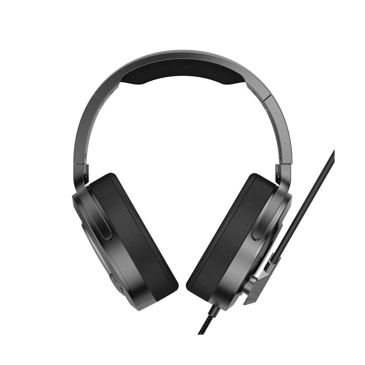 Baseus fejhallgató, Bluetooth GAMO D05 Immersive Virtual 3D Gamereknek, számítógépes játékokhoz, (PC), fekete (NGD05-01)