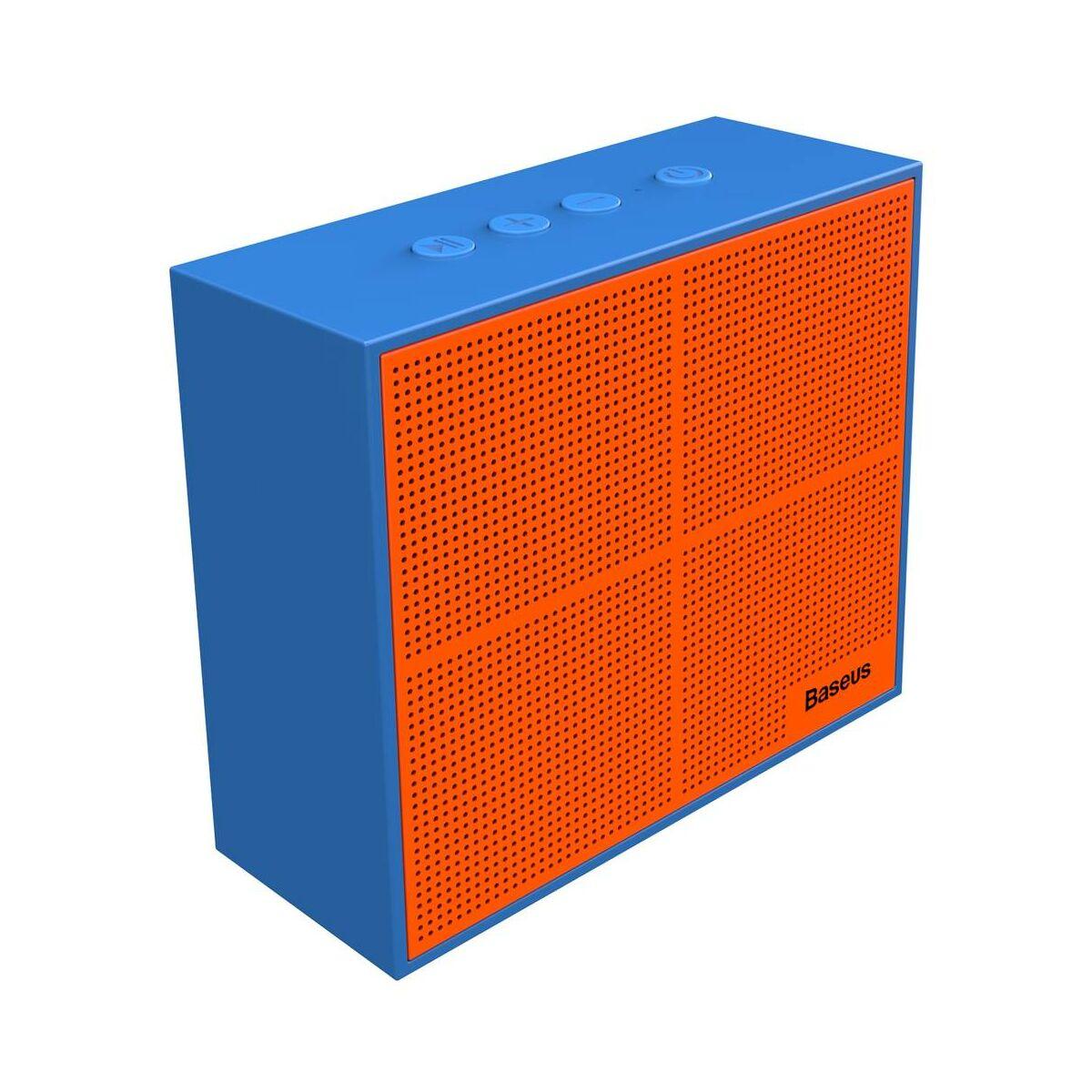 Baseus Hordozható hangszóró, Bluetooth Encok E05, Music-cube, kék (NGE05-03)